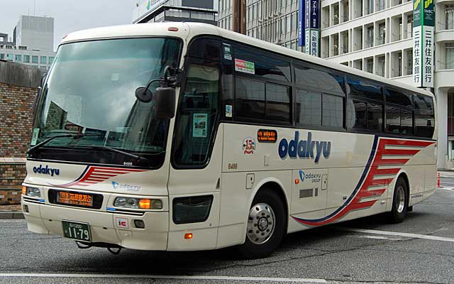各地のバス-小田急箱根高速バス
