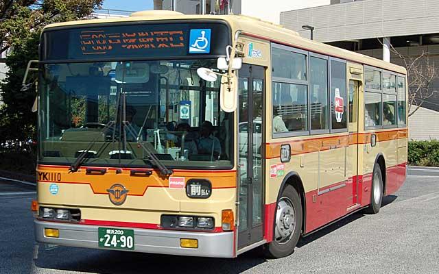 各地のバス-横浜神奈交バス